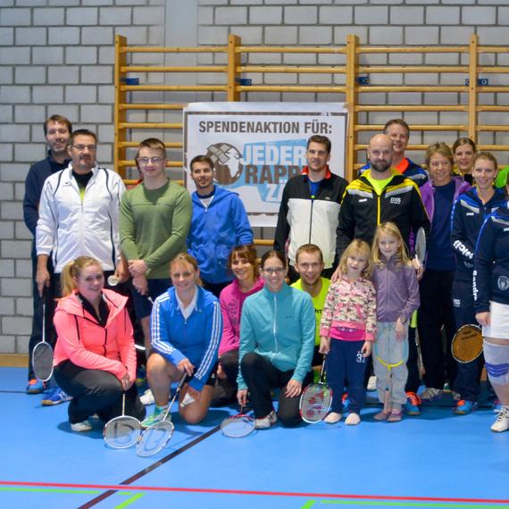 Badminton-Doppel-Plauschturnier