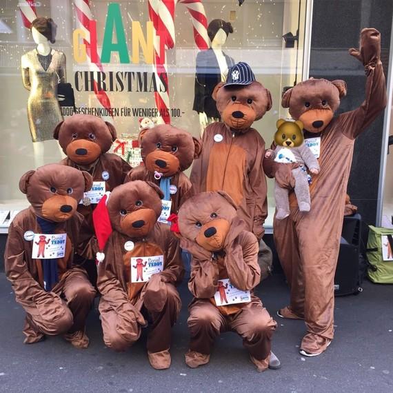 Social Teddy - Die bärenstarke Spendenaktion