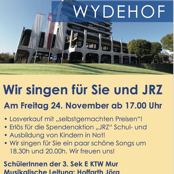 """Wir singen für Sie & """"JRZ"""" am 24. November 2017 im Wydenhof in Breitenbach"""